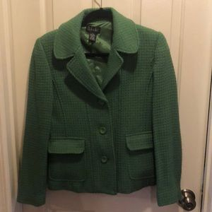 Darling green blazer/coat